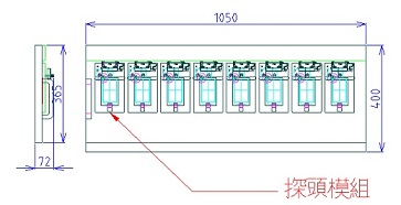 1~10Cell Aging Pallet 信號系統